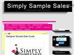 Simply Sample Sales