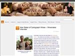 Bacchus and Beery Wine Blog