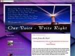 One Voice~ Write Right