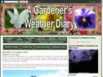 Green Lane Allotments Weather Diary